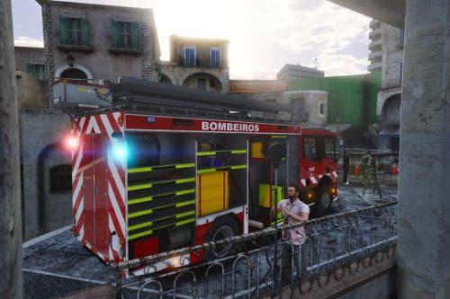 Portuguese Scania Firetruck
