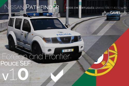 Portuguese SEF- Foreign and Frontier - Nissan Pathfinder [Addon | Livery]
