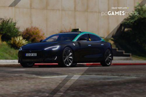 Portuguese Taxi Tesla Model S [Add-On]