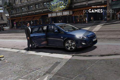Portuguese TVDE - Kapten, Bolt, Cabify, Uber, Its My Ride / Opel Astra J Tourer [ AddOn ]