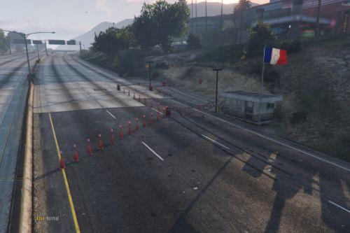 POSTE DE DOUANE AUTOROUTE GTA V [YMAP]