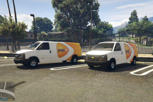 PostNL Livery for Chevy Express