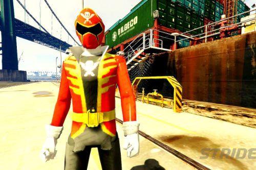 Power Ranger Red Super Mega Force