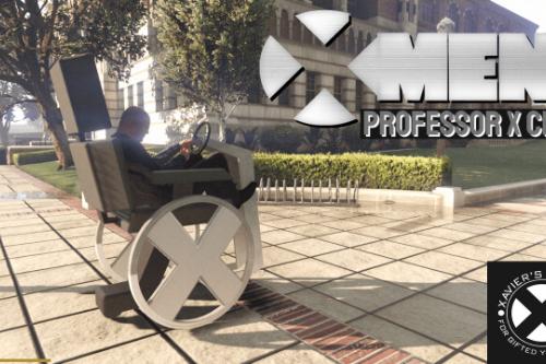 X-Men's Professor X Wheelchair [Add-On]