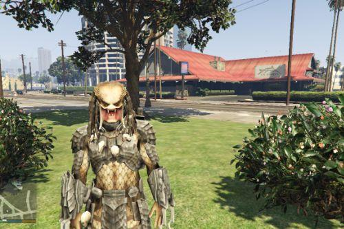 Predator (No Mask) [Add-On Ped]
