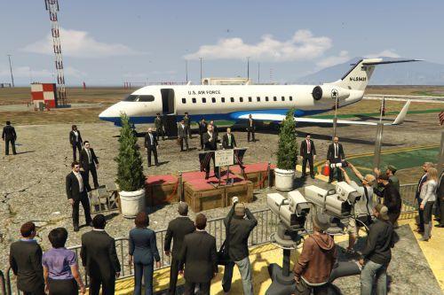 President arrives at LSIA [Menyoo]