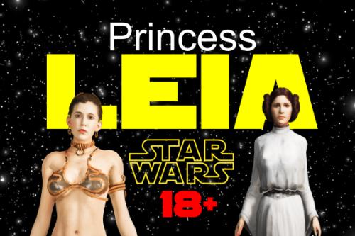 Princess Leia Pack 18+ w/cloth physics