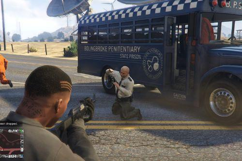Prison Bus Heist