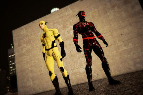 Professor Zoom & Black Racer (Prime Earth)