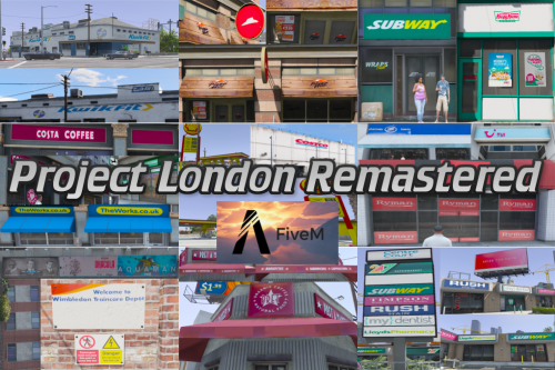 Project London Remastered (WIP) [OIV / FiveM]