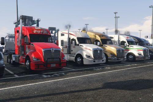 Kenworth T680 Paintjob Pack