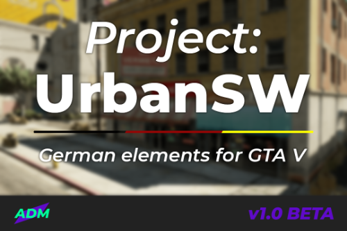 Project: UrbanSW — German elements for GTA V