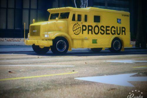 Prosegur Stockade Armored Truck