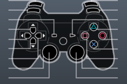 gta v pc ps4 controller layout