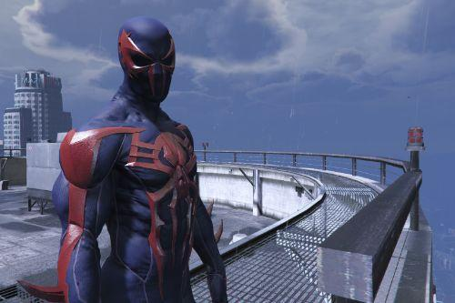 PS4 Spiderman 2099 [Add-on Ped]
