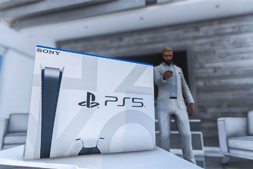 PS5 Console Box