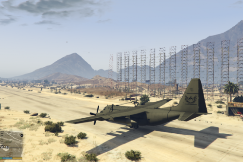 PUBG c-130T plane