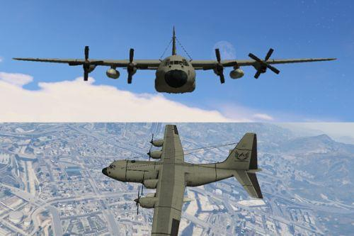 PUBG C-130t Cargo plane [add-on]