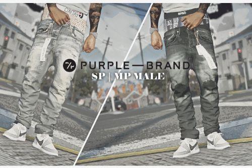 Purple Brand Sagged Jeans SP / MP Male