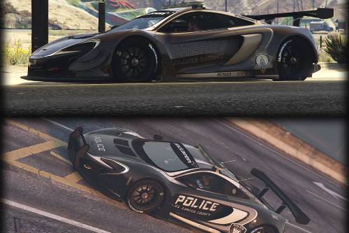 McLaren 650s GT3 Pursuit Edition [Add-On / Replace]