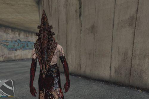 Pyramid Head- Feel free to update [Add-On Ped]