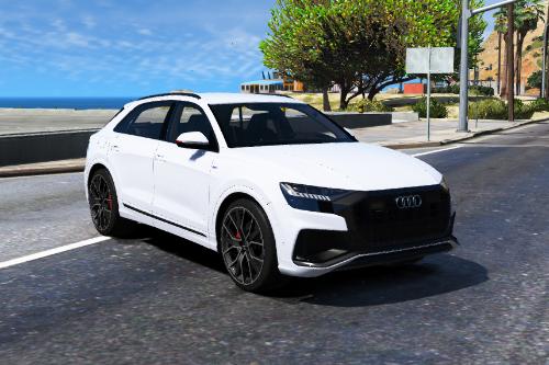 Handling for Audi Q8 2020