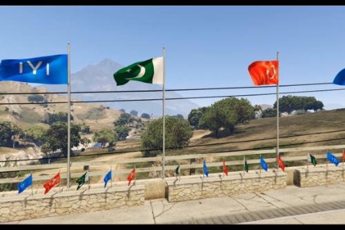 Qayi Tribe Flag(Erthughrul Ghazi)(Pak Turk)