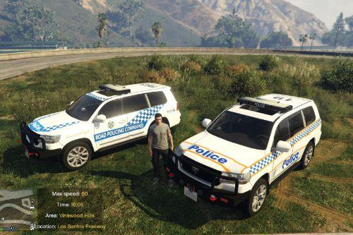 QPS & RPC Skins for Toyota Land Crusier