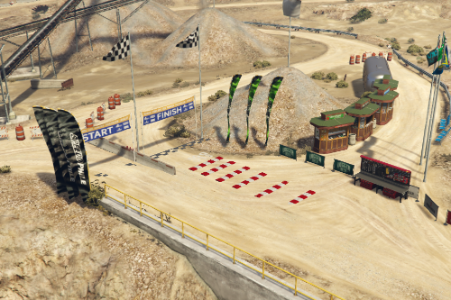 Quarry Dirt Race (FiveM Ready)