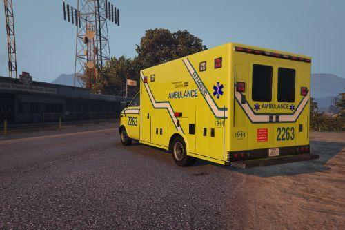Quebec Ambulance (Vanilla)
