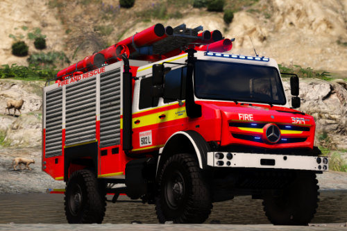 Queensland Fire and Emergency Services Mercedes Unimog