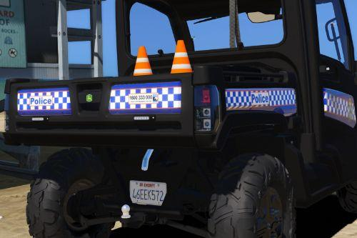 Queensland Police ATV