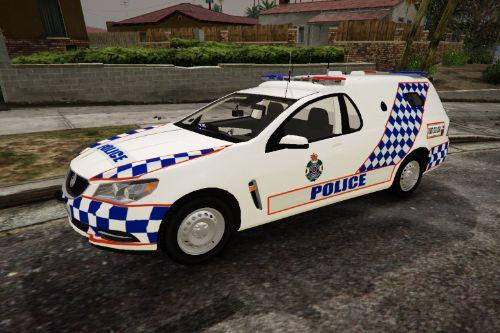 Queensland Police Divvy Van (Fictional)