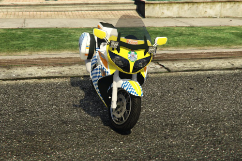Queensland Road Policing Command Bike
