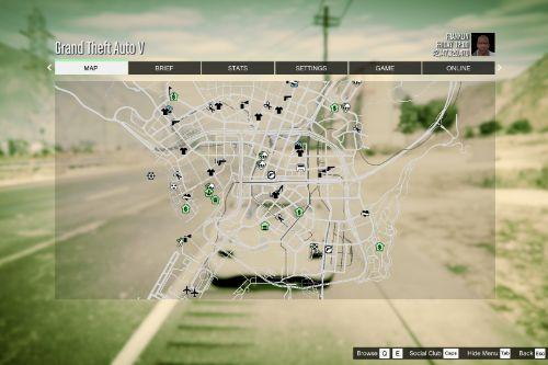 Racing Style Map 16k (N.F.S., Forza Horizon, The Crew, etc.) with Radar