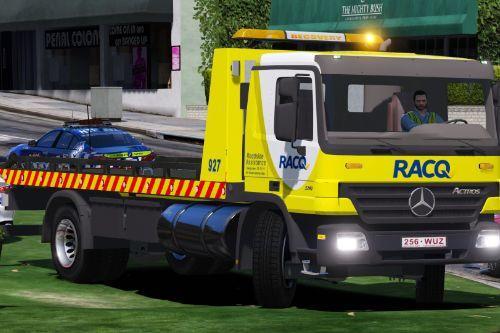 RACQ Queensland tow truck/flatbed