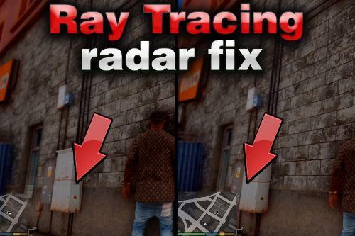 Radar Map Fix with Ray Tracing RTGI (beta)