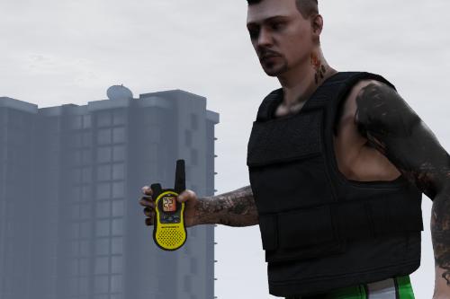 Radinho Amarelo (C4 explosive)