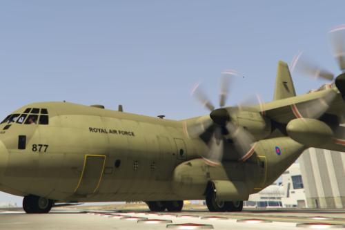RAF C130J Hercules - Transport and Refulling Royal Air Force