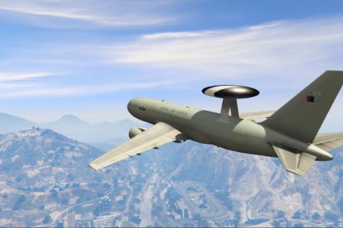 RAF E-3D Sentry AEW - Royal Air Force Reconnisence Aircraft (AWACS)