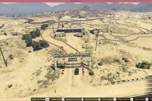 Desert Rally Map