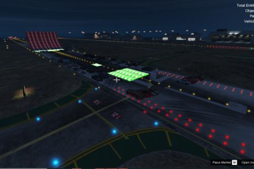 Ramp At Los Santos Airport