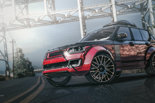 Range Rover Autobiography KAHN DESIGN [Replace | Analog-Digital Dials | Animated]