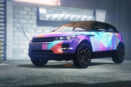 Range Rover Evoque - Abstract livery