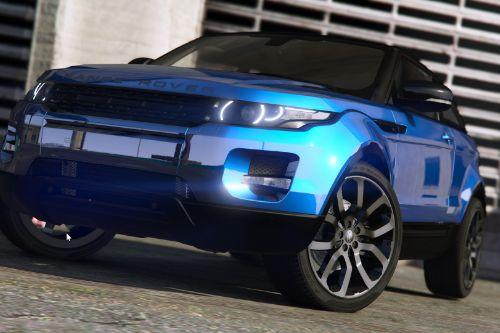 Range Rover Evoque [Add-on / Replace | Tuning | Template]