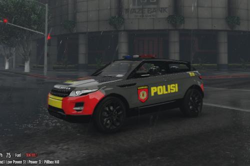 RANGE ROVER POLISI INDONESIA