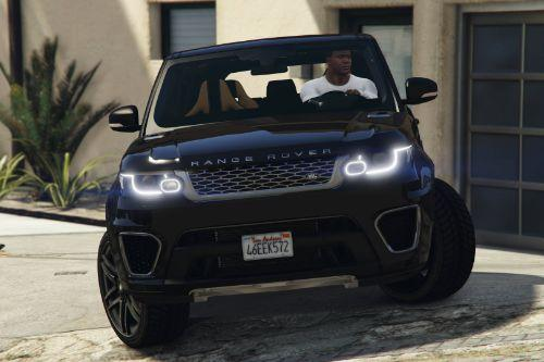 Range Rover Sport [Add-On / Replace]