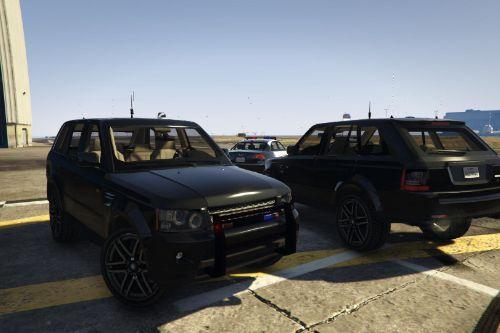 Range Rover Sport FBI Unmarked Police [Template | Unlocked]