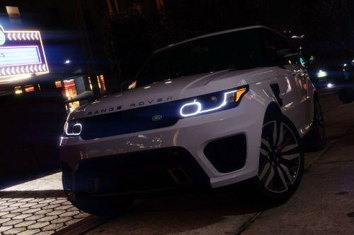 Range Rover Sport SVR 2016 [Animated / Templated / Add-On]