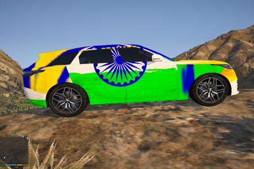 Range Rover Velar INDIA Reskins With INDIAN Number Plate  [ Replace ] 2020